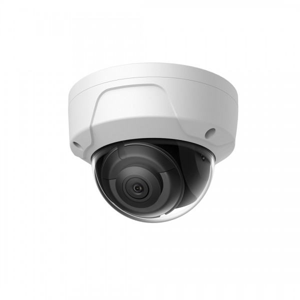 IP Dome: 4MP True WDR Fixed Mini Dome with Audio Support, Exterior