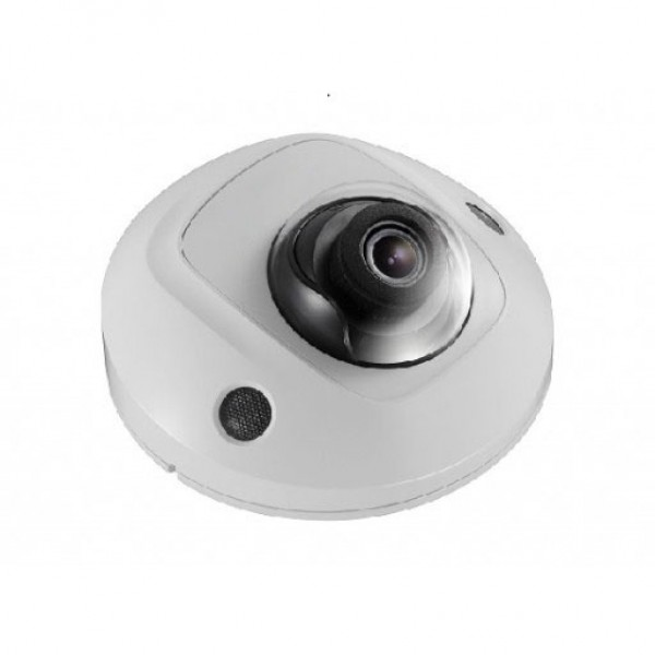 IP Dome: 4 MP WDR Fixed, Vandal-Proof Mini Dome W/ Audio, Exterior