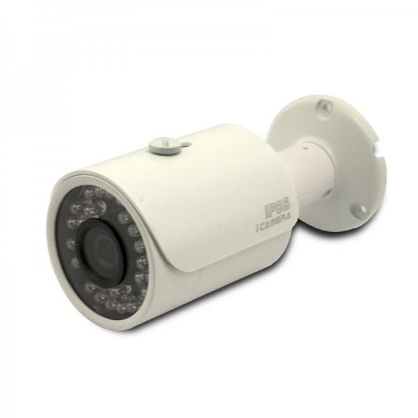 4MP Network IR Bullet Camera. 3.6mm Fixed Lens, IR(100ft), IP67, PoE