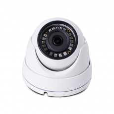 HD 4-in-1(CVI, TVI, AHD, Analog) Turret Dome 4MP 2.8mm Fixed Lens 18 New IR LEDs Weatherproof