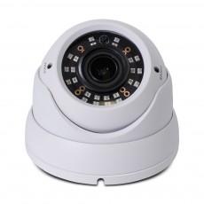 HD 4-in-1(CVI, TVI, AHD, Analog) Turret Dome 4MP 2.8-12mm Vari-focal Lens 24 New IR LEDs Weatherproof