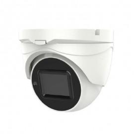 HD-TVI Dome: 5.0MP TVI Camera 2.8-12mm Motorized Lens EXIR LED's IP67 Weatherproof - White