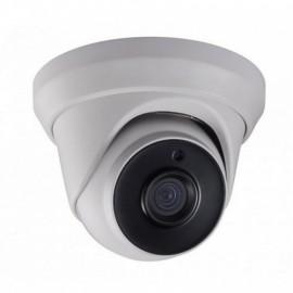 HD-TVI Dome: 5.0MP(4-in1) TVI Camera 2.8mm Fixed Lens EXIR LED's IP66 Weatherproof - White
