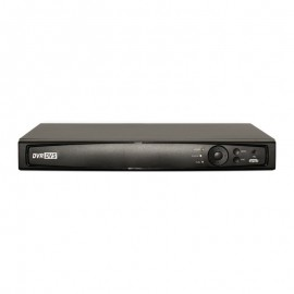 16CH 1080p 1U Tribrid  (TVI / IP / Analog) Real Time Display DVR, UL Listed