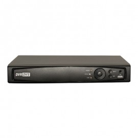 4CH 1080p 1U Tribrid  (TVI / IP / Analog) Real Time Display DVR, UL Listed