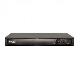 16CH 1080p 1U Turbo HD DVR (TVI / AHD /Analog / IP) Real Time Display, UL Listed
