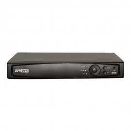 4CH 1080p 1U Turbo HD DVR (TVI / AHD /Analog / IP) Real Time Display, UL Listed