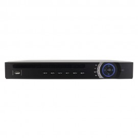 DVR XVR: 16CH 1080P 1U Penta-Brid (CVI / TVI / AHD / ANALOG / IP+8ch), H.264+/H.264 Dual-Stream Video Compression. Support 2 SATA HDDs Up to 12TB