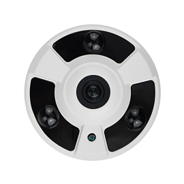 HD-TVI Specialty: 4-in-1(CVI, TVI, AHD, Analog) Motion Detector 1080P 2.4 Fixed Lens 24IR Weatherproof - White