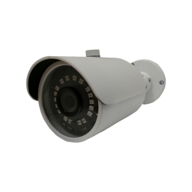 HD-TVI Bullet: SONY Cameras w/HD-Lens(6.0MP Fixed Lens / 5.0MP), 18pcs. Microcrystalline IR, BLC, DWDR, OSD(CoC), Adjustable To 4MP - White