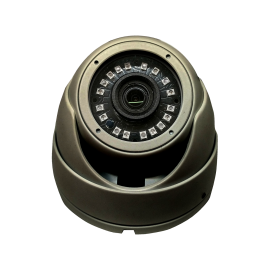 HD-TVI Dome: SONY Cameras w/HD-Lens(6.0MP Fixed Lens / 5.0MP), 18pcs. Microcrystalline IR, BLC, DWDR, OSD(CoC), Adjustable To 4MP - Grey
