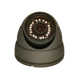 HD-TVI Dome: 1080P 3.6mm Fixed Lens 18IR Weatherproof - Grey