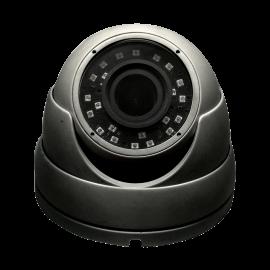 HD-TVI Dome: SONY Cameras w/HD-Lens(6.0MP Fixed Lens / 5.0MP Motorized Len), 24pcs. Microcrystalline IR, BLC, DWDR, OSD(CoC), Adjustable To 4MP - Grey