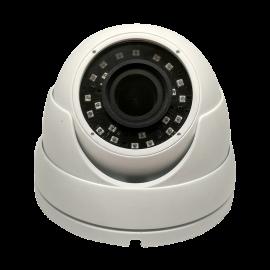 HD-TVI Dome: SONY Cameras w/HD-Lens(6.0MP Fixed Lens / 5.0MP Motorized Len), 24pcs. Microcrystalline IR, BLC, DWDR, OSD(CoC), Adjustable To 4MP - White