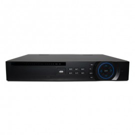 16 CH 4K NVR 1080p HD Resolution, H.265/H.264, 200 Mbps, 4 HDD Bays, Built-in 16 PoE Ports