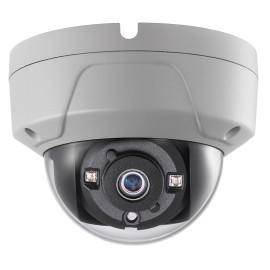 HD-TVI Dome: 3MP CMOS(2052x1536) Camera w/2.8MP Fixed Lens, 1080p TVI, 2pcs. Smart IR LED's, BLC, OSD (CoC) - White