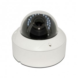 HD TVI Dome 1080P 2.8-12mm Motorized Vari-focal, Smart IR (120ft), Weatherproof, 1k10 UL Listed