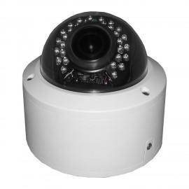 HD-TVI Dome: SONY Cameras w/HD-Lens(5.0MP Fixed Lens / 5.0MP Vari-focal), 30pcs. Microcrystalline IR, BLC, DWDR, OSD(CoC), Adjustable To 4MP - White