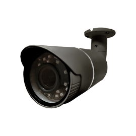TVI: 4.0MP Cameras w/4.0MP HD-Lens, Microcrystalline IR, BLC, OSD (CoC) - Grey