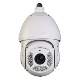 HD CVI PTZ Dome 1080P 20x Optical Zoom, Smart IR up to 330Ft. IP66 Weatherproof