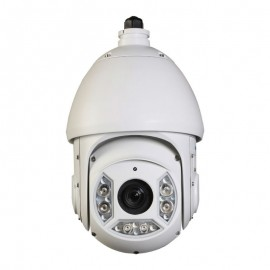 HD CVI PTZ Dome 1080P 30x Optical Zoom, Smart IR up to 330Ft. IP66 Weatherproof