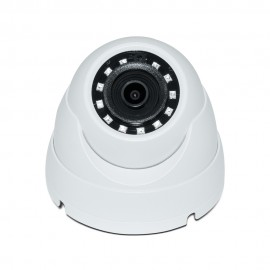 HD CVI Dome 2MP 2.8mm Fixed Lens 1080P Smart IR (100ft), DWDR, Weatherproof