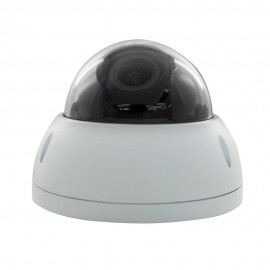 HD CVI Dome 1080P 2.7-12mm Motorized Vari-focal, Smart IR (98ft), Weatherproof, 1k10 Vandalproof