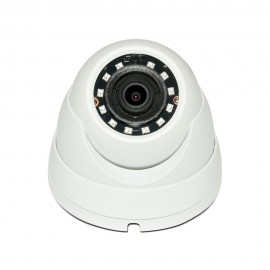 HD-CVI Dome: 4MP 2.8mm Fixed Lens Max 4MP Real-time Smart IR (100ft), WDR, Weatherproof