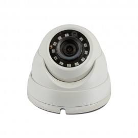 HD-CVI Dome: 4MP 3.6mm Fixed Lens Max 4MP Real-time Smart IR (100ft), WDR, Weatherproof
