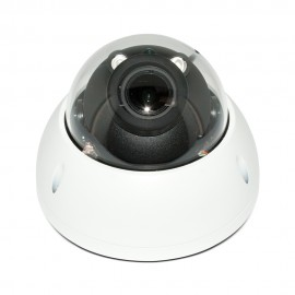 HD CVI 4MP Dome, 2.7-12mm Motorized Lens Max 4MP Real-time, Smart IR (100ft), True WDR, Vandalproof
