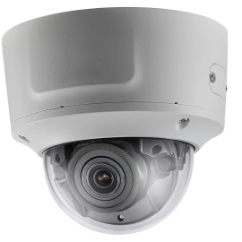 IP Dome: 8MP VF IR Motorized Zoom, Vandal-Proof Dome With Audio, Exterior