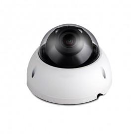 3MP Full HD Network IR Dome Camera. 2.7-12mm Motorized Lens, IR(98ft), IP66, 1k10, PoE