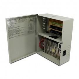 9 CH 18Amp DC12V Power Supply Box. PTC UL Listed